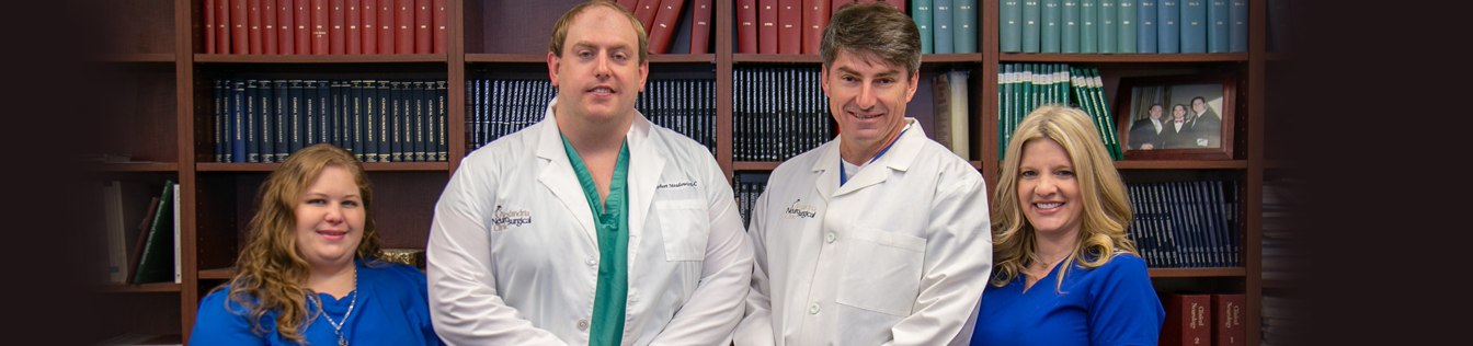 Troy M. Vaughn, M.D., F.A.C.S and team | Alexandria Neurosurgical Clinic